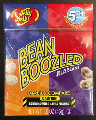 Jelly Belly Bean Boozled 4th Edition 45g - bean boozled challenge