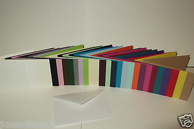 A7/c7 Landscape Quality 240 Gsm Card Blanks / Rsvp With Or Without Envelopes