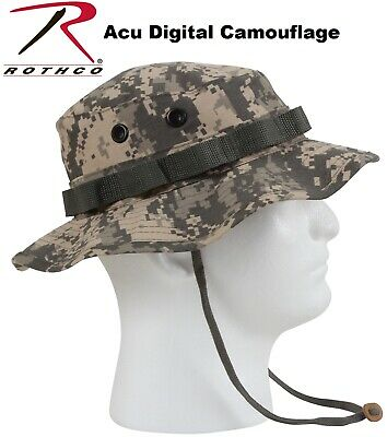Acu Digital Camouflage Army Military Tactical Wide Brim Bucket Boonie Hat 5891