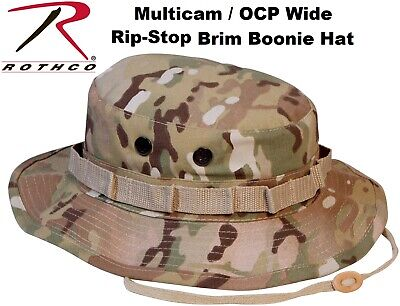 Multicam OCP Camouflage Military Tactical Wide Brim Bucket Boonie Hat 5892