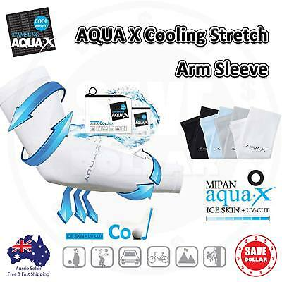 3 Pairs Cooling Sport Arm Stretch Sleeves Sun UV Protection Covers Golf Cycling