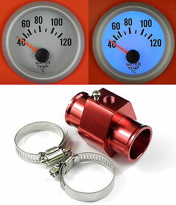 S4 Universal Water Temp /Temperature gauge With Sensor + Hose adapter 30mm