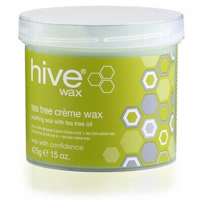 Hive Options Tea Tree Crème Wax With Natural Antiseptic Qualities 425g