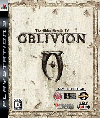 New PS3 The Elder Scrolls IV: Oblivion Japan Import