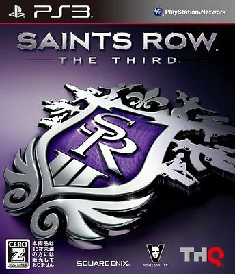 New PS3 Saints Row: The Third Japan Import
