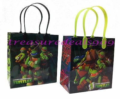 Teenage Mutant Ninja Turtles 6 Pcs Goodie Bags Party Favors Candy  Birthday Bag