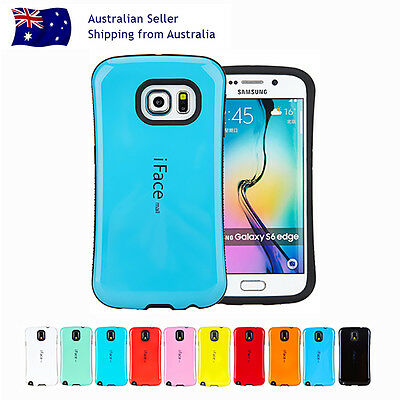 iFace Hard Shockproof Gel Case Cover Samsung Galaxy S Note 7/6/5/4/3 edge+Plus