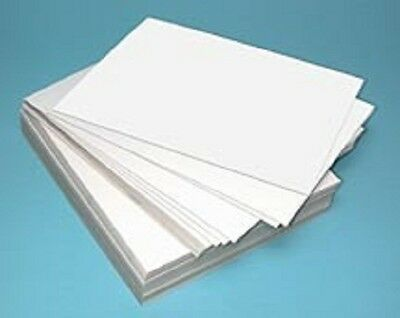 "50 Large Sheets Of Kids Plain White Drawing / Painting / Play Paper 15"" X 20"""