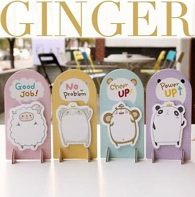 Say U Stand Animal Sticker Post-It Bookmark Marker Memo Index Tab Sticky Notes
