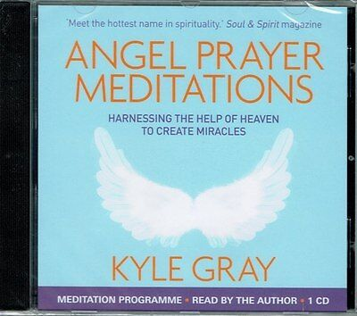 Angel Prayer Meditations Audio CD in English by Kyle Gray NEW & Sealed