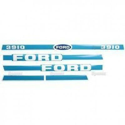 New Ford 3910 Hood Decal Set