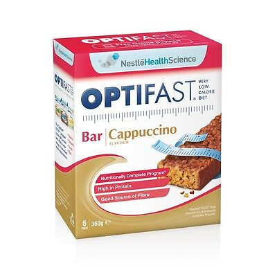 Optifast Vlcd Bars Cappuccino 6 X 60G