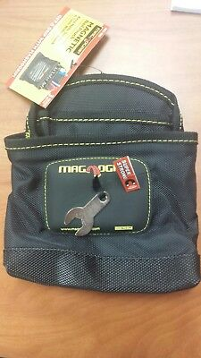 Magnogrip Magnetic Nail Pouch Shop Tool Hardware Nut Bolt Screw Nail Holder