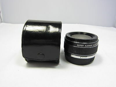 SUPER ALBINAR AUTO TELE CONVERTER 2X for Olympus OM Manual Focus Made in JAPAN