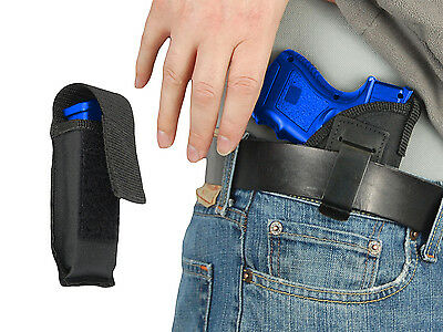Mag Pouch for Taurus Compact 9mm 40 45 NEW Barsony Black Leather IWB Holster