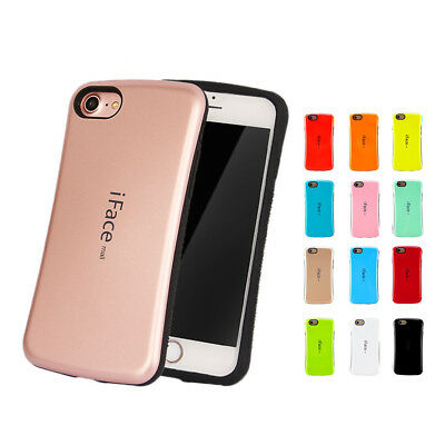 iPhone 8/7/Plus 6/6S 5S SE C iFace Shockproof Hybrid Rubber Hard Gel Case Cover