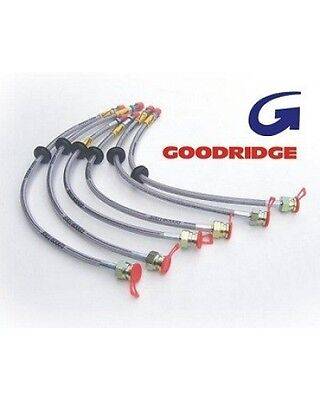 Kit Flexibles de Frein Goodridge Peugeot 406 V6