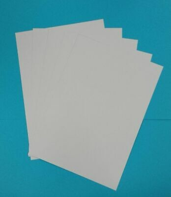 100 x A4 QUALITY SMOOTH THICK WHITE PRINTER CRAFT CARD 300GSM