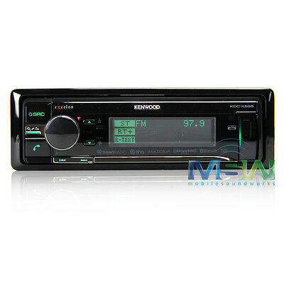 *NEW* KENWOOD KDC-X898 In-DASH CD/MP3 eXcelon CAR STEREO RECEIVER w/ BLUETOOTH