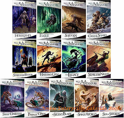Legend of Drizzt Collection Forgotten Realms Series Set 1-13 by RA Salvatore