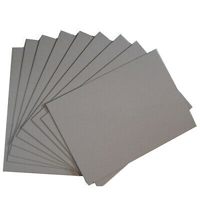 Greyboard Mount Board 1500 microns A4 A3 A2 Backing Model Board 1.5mm Thick Card