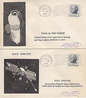 Cape Canaveral Sep-1-Sep-5-1964 Titan 3A First Flight- Ogo Orbited
