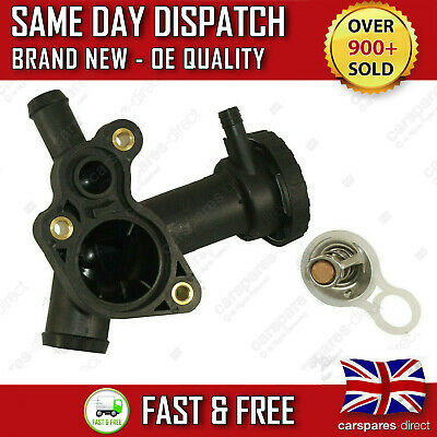 Mini One Cooper R50, R52, R53 Thermostat + Housing 1 Year Warranty 11537829959