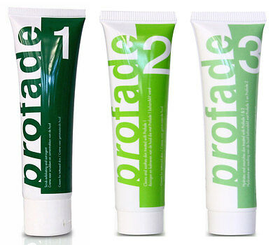 PROFADE 1.2.3 CREAM Tattoo removal Formula to remove old and new tattoos