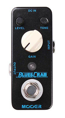 Mooer Audio Blues Crab Overdrive pedal