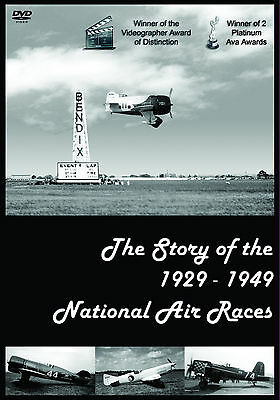 The Story of the 1929 - 1949 National Air Races - 600 Photos & 1 Hr of Film