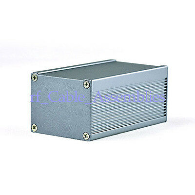 Extruded Aluminum Electronic Power Enclosure PCB instrument Project Box Case DIY