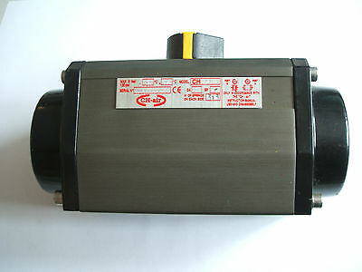 CH-AIR CH075G Rotary Actuator 8 Bar 90 degree rotation 0.61L Pneumatic cylinder
