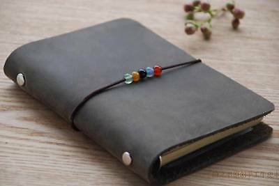 Blank Diaries Journals notebook note book 10*15cm genuine leather 0050309