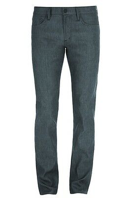 J Brand Mens Tyler Perfect Slim Fit Stretch Raw Slate Jeans In Size 36