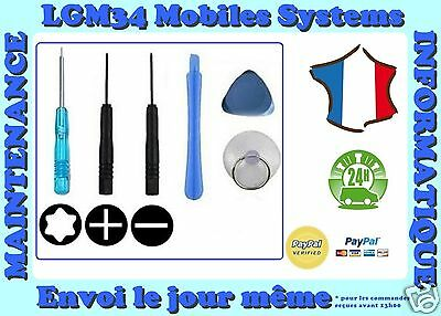 Kit 6 Outils Iphone 3 / 3Gs / 4 / 4S / 5 / 5C / 5S / Se / 6 / 6+ / 6S / 6S+