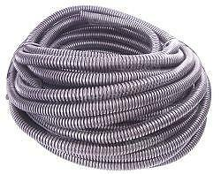 5m SPLIT WIRE CABLE COVERING FLEXIBLE CONVOLUTED CONDUIT 10.7 CARGO 191945