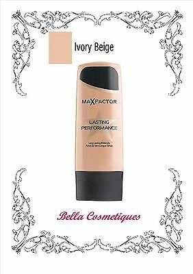 MAX FACTOR LASTING PERFORMANCE FOUNDATION 101 IVORY BEIGE makeup