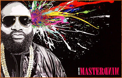 RICK ROSS Mastermind 2014 Ltd Ed New RARE Poster +FREE Rap/Hip-Hop Poster! MMG
