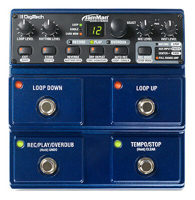 Digitech JamMan Stereo Looping Station pedal