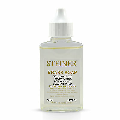 Brass Soap - For Maintaining All Brass Musical Instruments 50Ml By Steiner Music