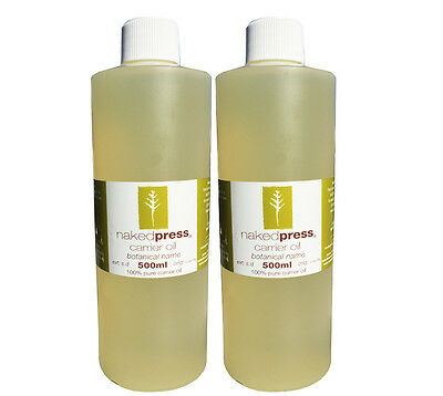 ALMOND SWEET OIL 100% PURE 500ml x 2 VALUE PACK