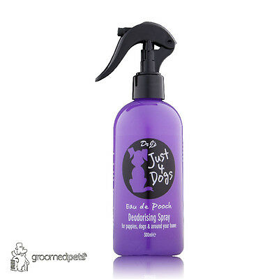 Dr J's Just 4 Dogs Eau de Pooch Deodorising Spray/Dog Fragrance, 300ml