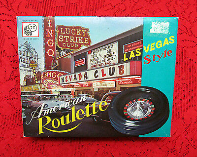 Vintage Atc American Roulette Las Vegas Style Game In New Condition! Japan