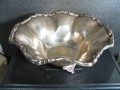 .925 Sterling Mexico Jose Marmolejo  BON BON CANDY FOOTED BOWL