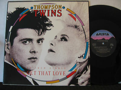 NEW WAVE/ Thompson Twins - Get That Love