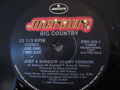 ALTERNATIVE/ Big Country - Just A Shadow (Promo)