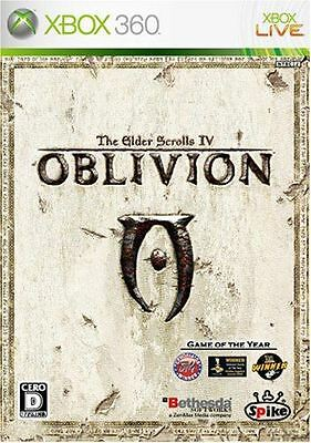 New Xbox360 The Elder Scrolls IV: Oblivion Japan Import