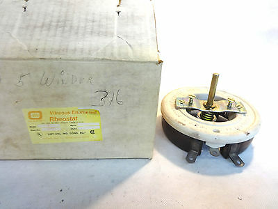 New In Box Ohmite Rns2K5 2500 Ohms Rheostat Model N