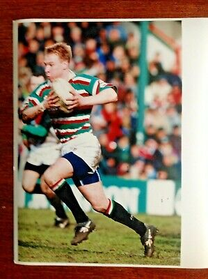 Richie Robinson - Leicester Tigers Original Rugby Press Photograph