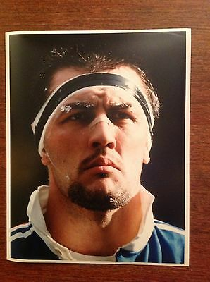 Olivier Roumat - France Original Rugby Press Photograph
